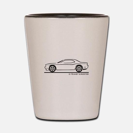New Dodge Challenger Shot Glass