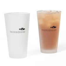 1955 Ford Thunderbird Drinking Glass