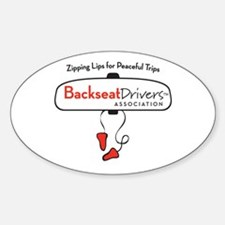 Backseat Drivers Association Decal