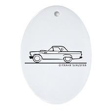 1957 Thunderbird Hardtop Ornament (Oval)