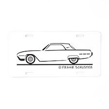 1962 Ford Thunderbird Hard To Aluminum License Pla