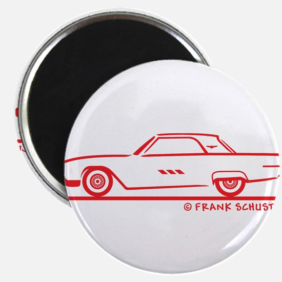 1963 Ford Thunderbird Hard To Magnet