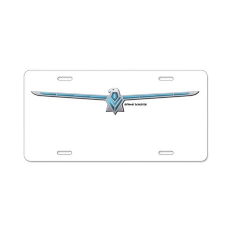 66 T Bird Emblem Aluminum License Plate
