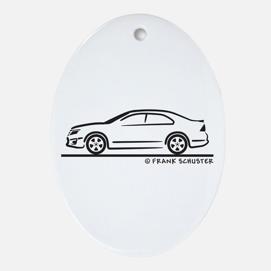 Ford Fusion Ornament (Oval)