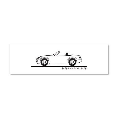 Mazda Miata MX-5 NB Car Magnet 10 x 3