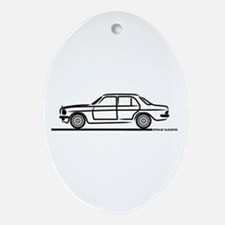 Mercedes 200 230 240 300 Type Ornament (Oval)