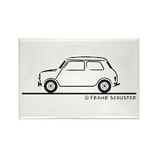 Classic Mini Cooper Rectangle Magnet