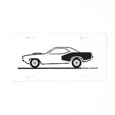 1970-74 Plymouth Hemi Cuda Aluminum License Plate
