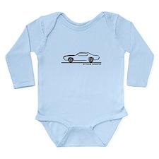1969 Pontiac GTO Coupe Long Sleeve Infant Bodysuit