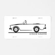 Sunbeam Alpine V Aluminum License Plate