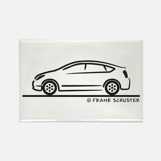 Toyota Prius Rectangle Magnet