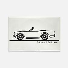 Triumph TR4 Rectangle Magnet