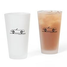 Triumph Spitfire Drinking Glass