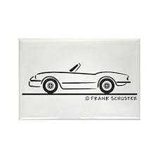 1974 Triumph Spitfire Rectangle Magnet
