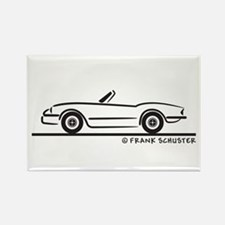 1974 Triumph Spitfire Rectangle Magnet