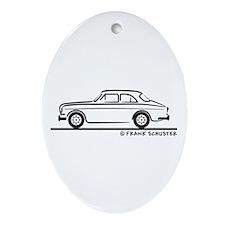 Volvo Amazon Ornament (Oval)