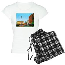 Placerville Bell Tower Square pajamas