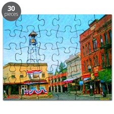 Placerville Bell Tower Square Puzzle