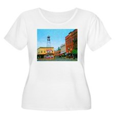 Placerville Bell Tower Square T-Shirt