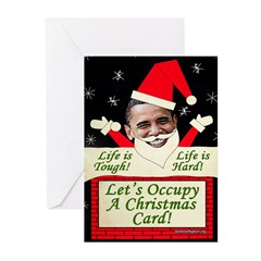 Occupy Christmas Greeting Cards (Pk of 20)