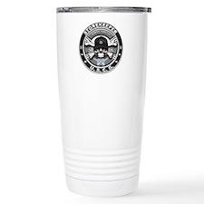 USCG Storekeeper Skull SK Travel Mug