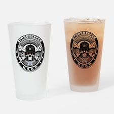 USCG Storekeeper Skull SK Drinking Glass