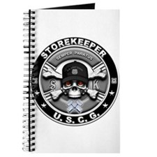 USCG Storekeeper Skull SK Journal