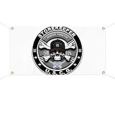 USCG Storekeeper Skull SK Banner