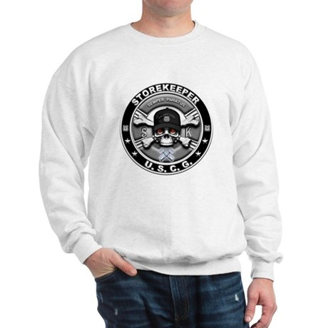 USCG Storekeeper Skull SK Sweatshirt