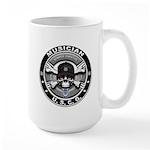 USCG Musician Skull MU Large Mug