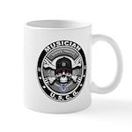 USCG Musician Skull MU Mug