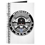 USCG Musician Skull MU Journal