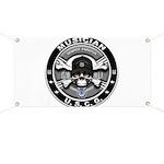 USCG Musician Skull MU Banner