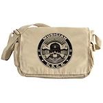 USCG Musician Skull MU Messenger Bag