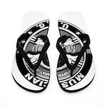 USCG Musician Skull MU Flip Flops