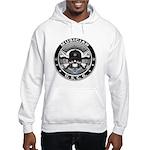 USCG Musician Skull MU Hooded Sweatshirt