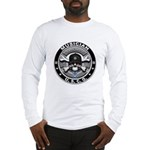 USCG Musician Skull MU Long Sleeve T-Shirt