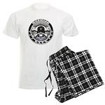 USCG Musician Skull MU Men's Light Pajamas