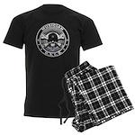 USCG Musician Skull MU Men's Dark Pajamas