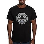 USCG Musician Skull MU Men's Fitted T-Shirt (dark)