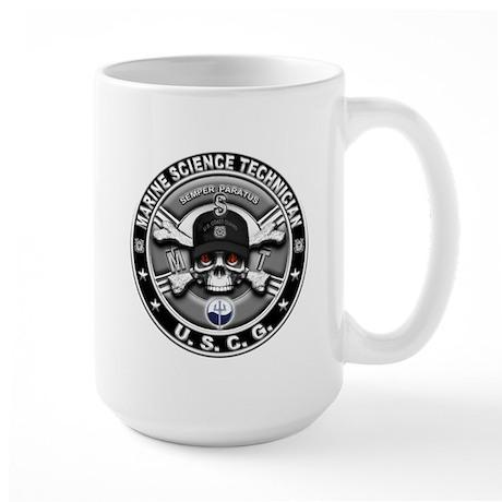 USCG Marine Science Technicia Large Mug