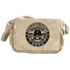 USCG Marine Science Technicia Messenger Bag