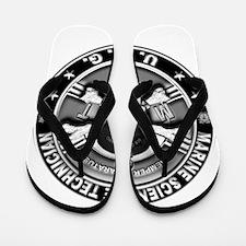 USCG Marine Science Technicia Flip Flops
