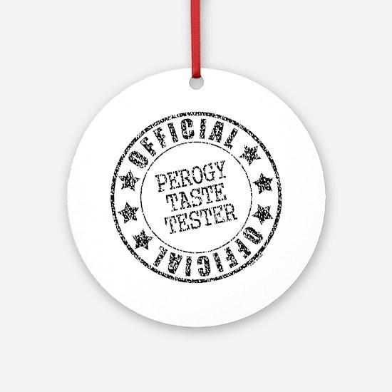 Perogy Tester Ornament