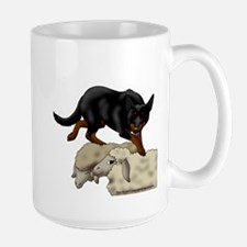 Kelpie On Sheep Mug