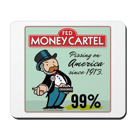 Fed Parody Mousepad