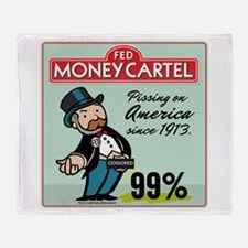 Fed Parody Throw Blanket