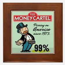 Fed Parody Framed Tile