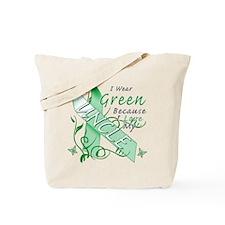 I Wear Green I Love My Uncle Tote Bag