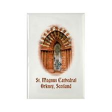St. Magnus Cathedral, Orkney Rectangle Magnet
